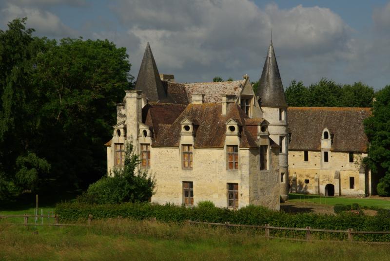 Photo du Monument Historique Ancien manoir de Quilly situé à Bretteville-sur-Laize