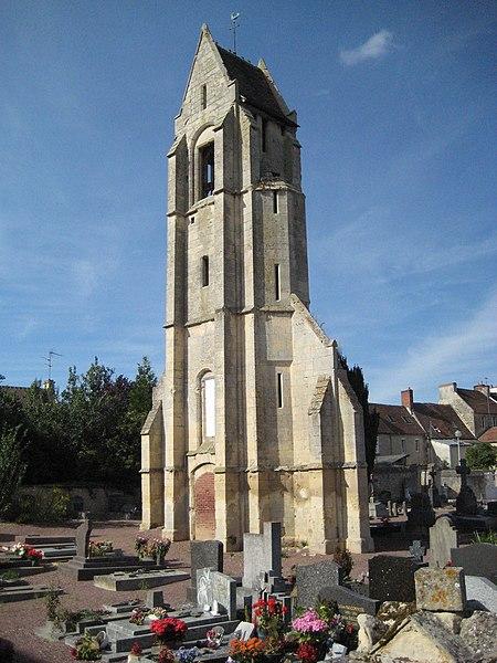 Photo du Monument Historique Eglise situé à Bretteville-sur-Odon