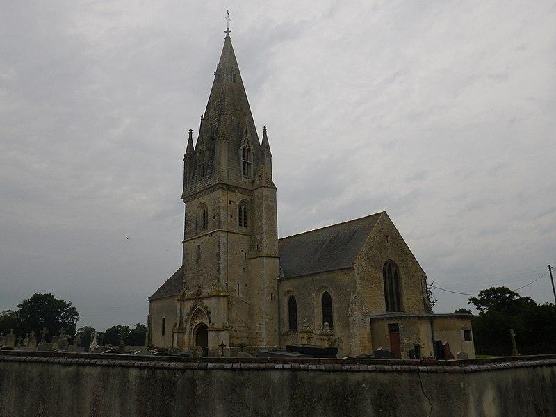 Photo du Monument Historique Eglise situé à Bricqueville