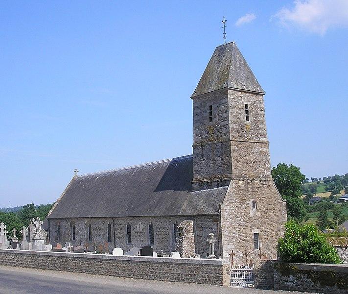 Photo du Monument Historique Eglise situé à Burcy