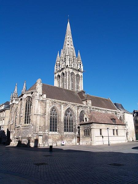 Photo du Monument Historique Ancienne église Notre-Dame-de-Froide-Rue ou église Saint-Sauveur situé à Caen