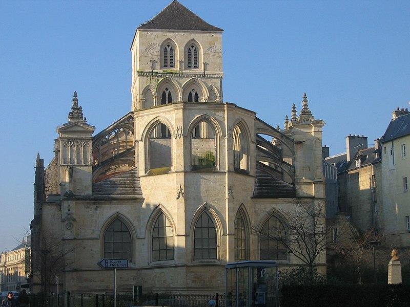 Photo du Monument Historique Eglise du Vieux-Saint-Sauveur ou église Saint-Sauveur-du-Marché (ancienne halle au beurre) situé à Caen