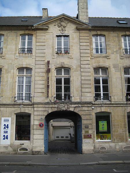 Photo du Monument Historique Hôtel Canteil de Condé situé à Caen