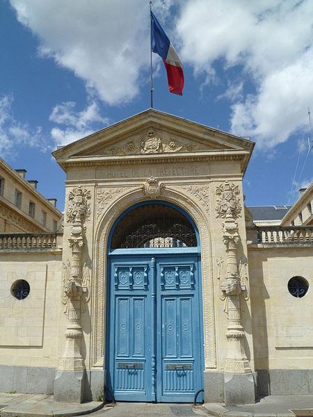Photo du Monument Historique Hôtel de la Préfecture situé à Caen