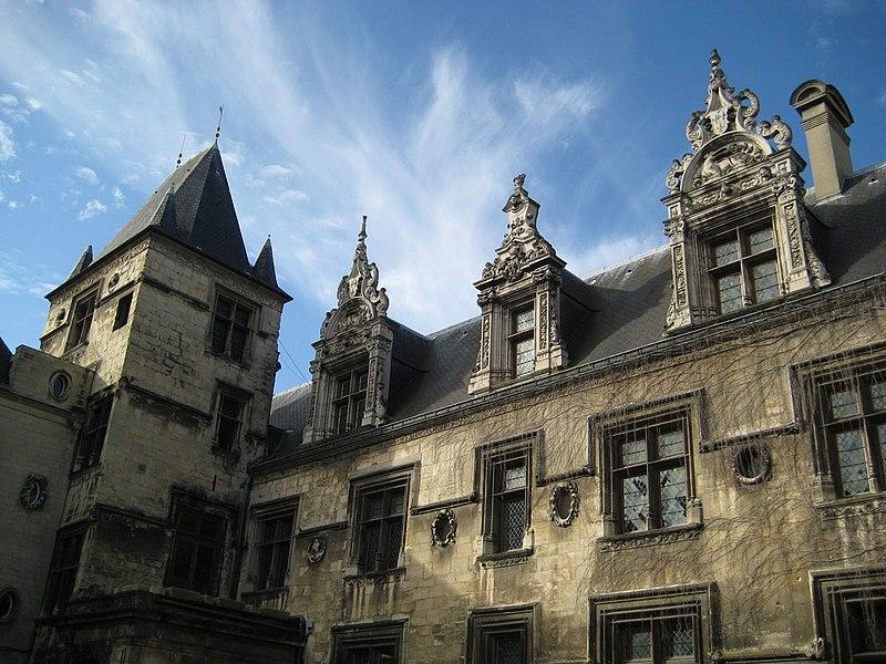 Photo du Monument Historique Ancien hôtel de Than situé à Caen