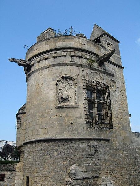 Photo du Monument Historique Maison dite des Gens d'Armes situé à Caen
