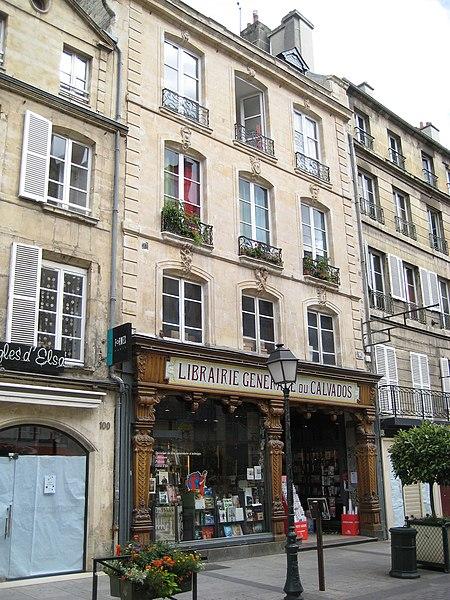 Photo du Monument Historique Maison ou ancien hôtel Chibourg situé à Caen