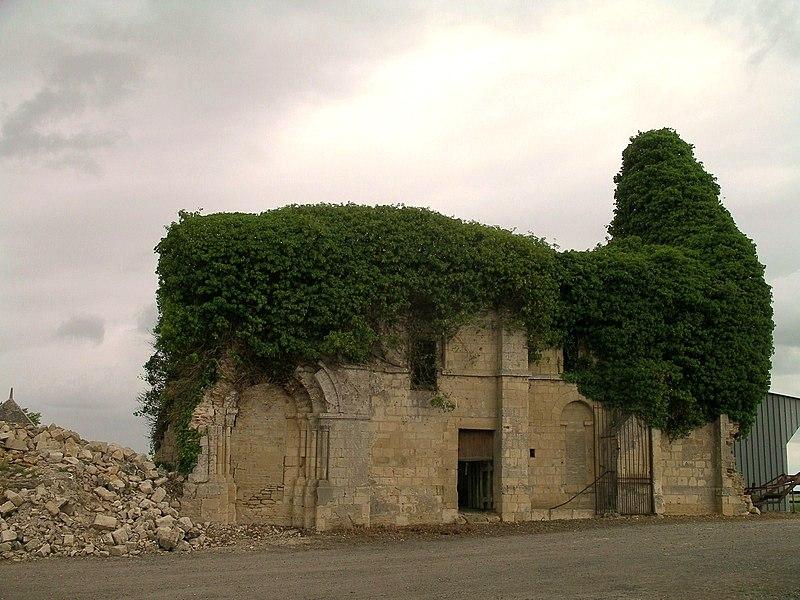 Photo du Monument Historique Ancien prieuré Notre-Dame-des-Moutiers situé à Cagny