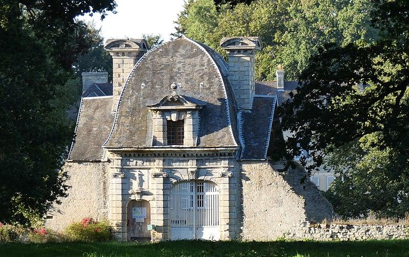Photo du Monument Historique Château de Jucoville situé à La Cambe