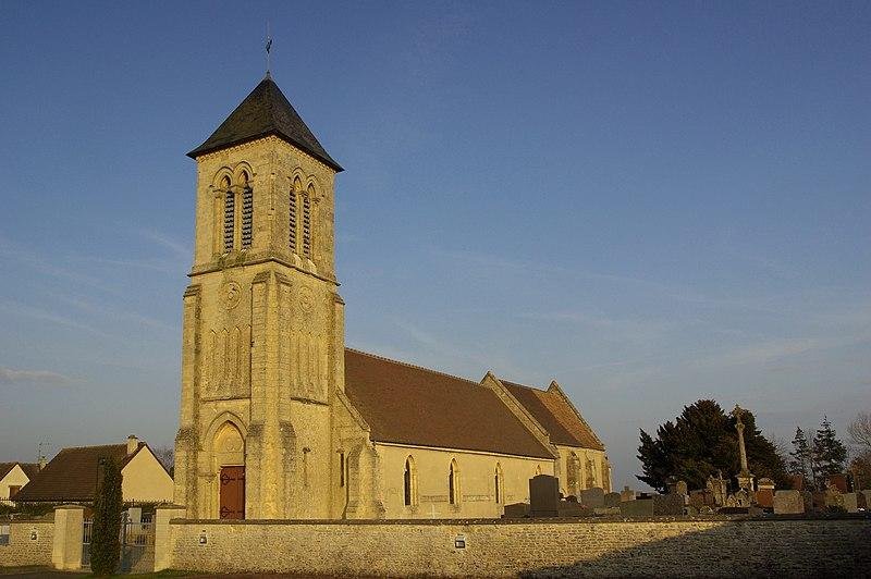 Photo du Monument Historique Eglise Saint-Germain situé à Cauvicourt
