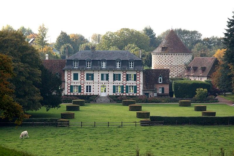 Photo du Monument Historique Château de Besneray situé à Chapelle-Yvon (La)