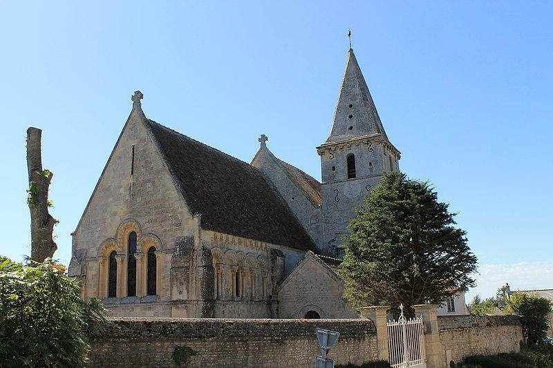 Photo du Monument Historique Eglise Saint-Germain situé à Cintheaux