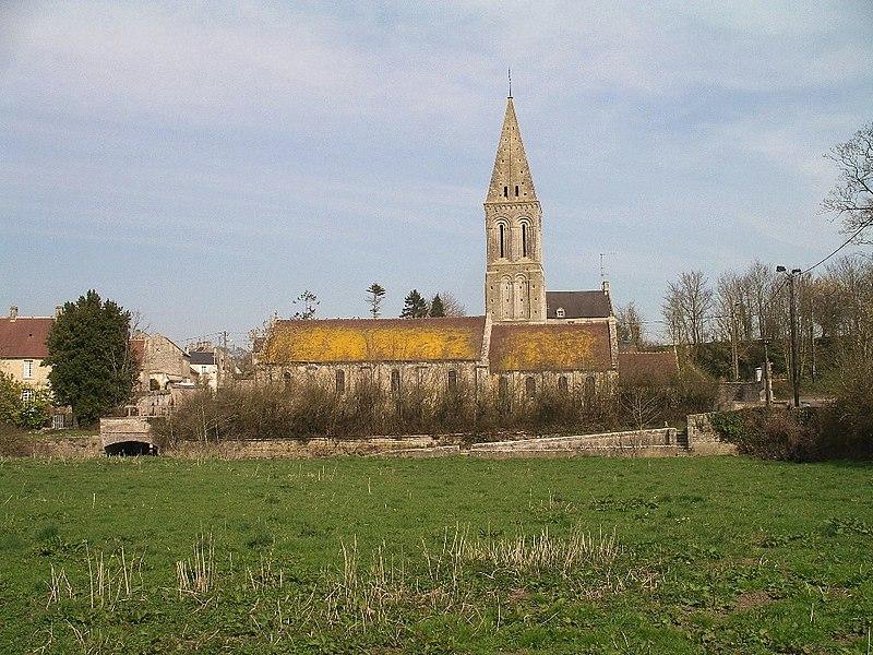Photo du Monument Historique Eglise Saint-Vigor situé à Colombiers-sur-Seulles