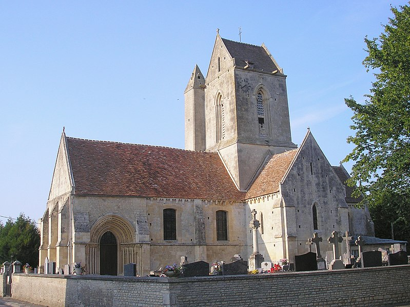 Photo du Monument Historique Eglise Saint-Pierre et Saint-Martin situé à Condé-sur-Ifs
