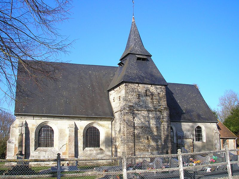 Photo du Monument Historique Eglise situé à Cordebugle