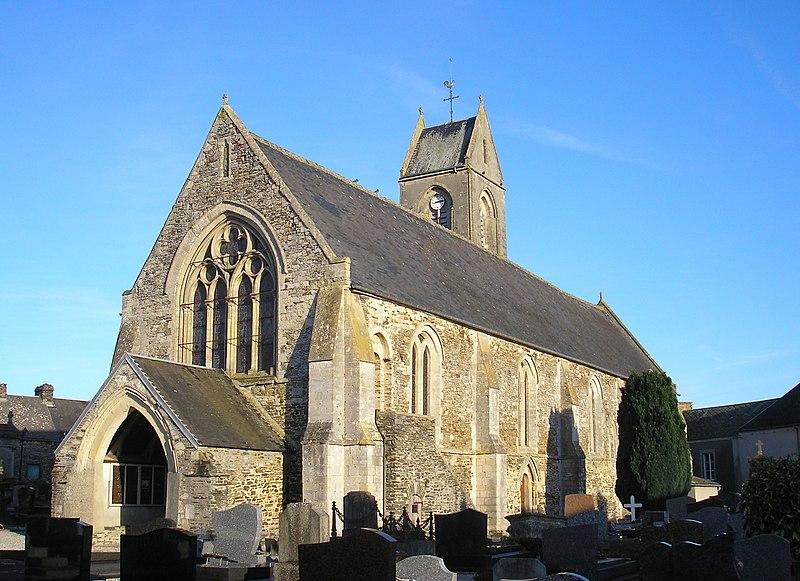 Photo du Monument Historique Eglise situé à Cormolain