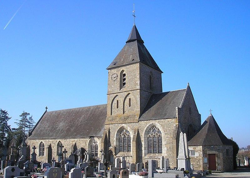 Photo du Monument Historique Eglise situé à Coulonces
