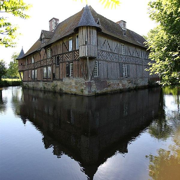 Photo du Monument Historique Manoir situé à Coupesarte