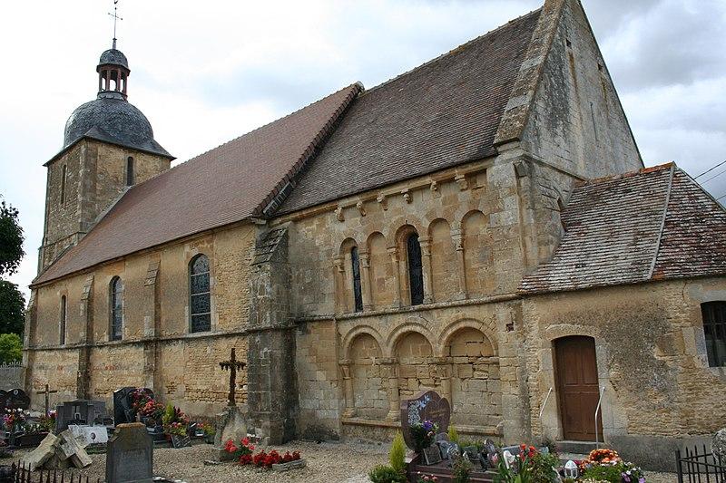 Photo du Monument Historique Eglise Saint-Gervais-Saint-Protais situé à Courcy
