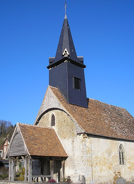 Photo du Monument Historique Eglise situé à Courtonne-la-Meurdrac