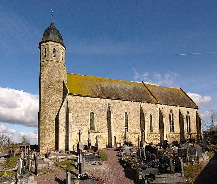 Photo du Monument Historique Eglise Saint-Martin situé à Croisilles
