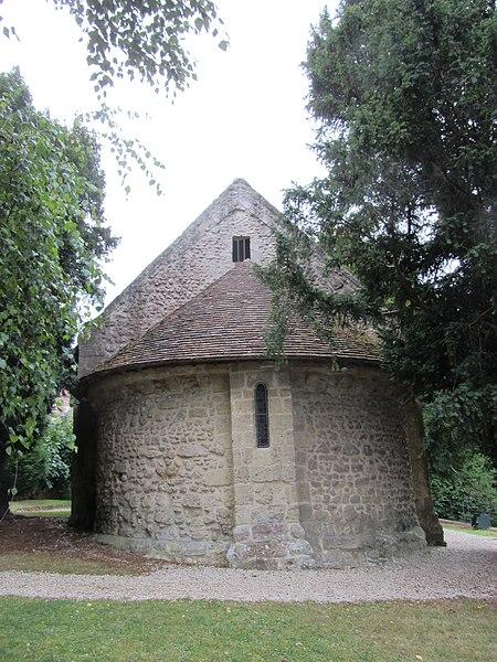 Photo du Monument Historique Ancienne église paroissiale, ou chapelle Saint-Laurent situé à Deauville