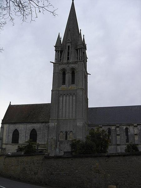 Photo du Monument Historique Eglise situé à Douvres-la-Délivrande
