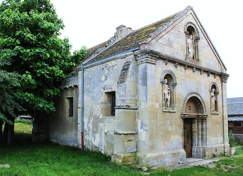 Photo du Monument Historique Ancien prieuré de Tailleville situé à Douvres-la-Délivrande