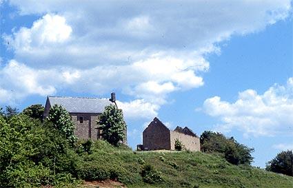 Photo du Monument Historique Château de Beaumont-le-Richard situé à Englesqueville-la-Percée