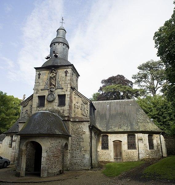 Photo du Monument Historique Chapelle Notre-Dame-de-Grâce situé à Equemauville