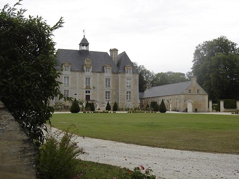 Photo du Monument Historique Château situé à Esquay-sur-Seulles