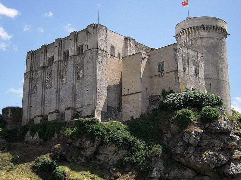 Photo du Monument Historique Château fort, actuellement collège situé à Falaise