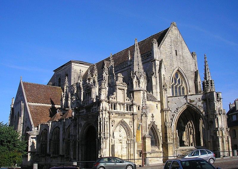 Photo du Monument Historique Eglise de la Trinité situé à Falaise
