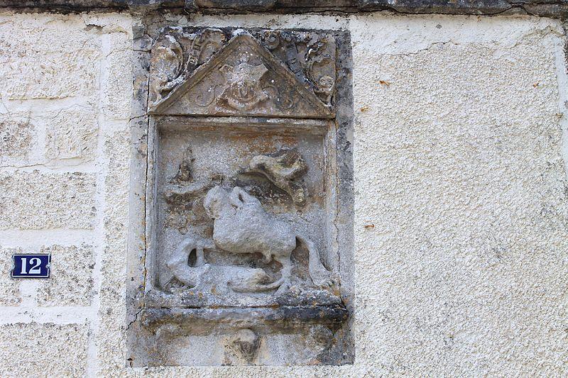 Photo du Monument Historique Enseigne d'auberge situé à Falaise