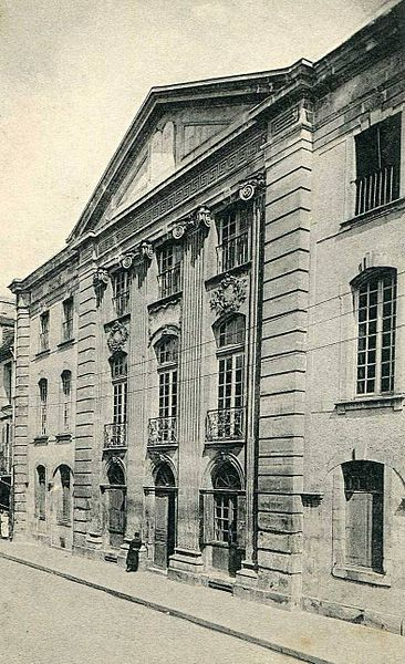 Photo du Monument Historique Ancien Palais de Justice situé à Falaise