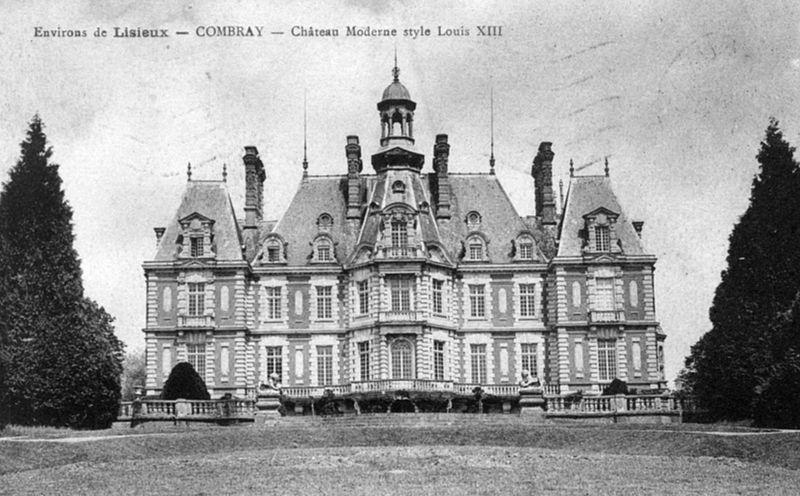 Photo du Monument Historique Château de Combray situé à Fauguernon