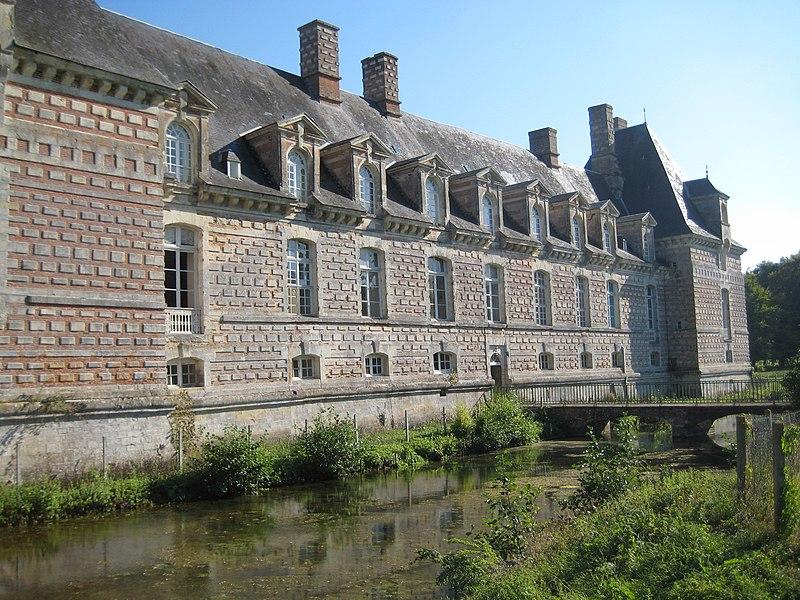 Photo du Monument Historique Domaine de Fervaques (également sur commune de Cheffreville-Tonnencourt) situé à Fervaques