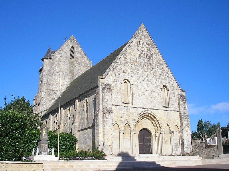 Photo du Monument Historique Eglise Saint-Pierre situé à Fontaine-Etoupefour