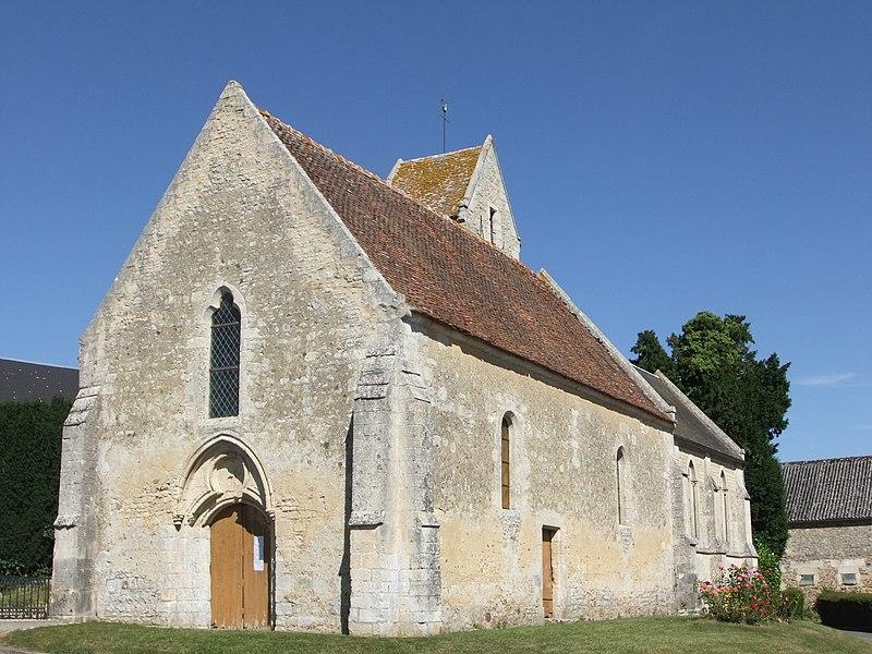 Photo du Monument Historique Eglise de Bray-en-Cinglay situé à Fontaine-le-Pin