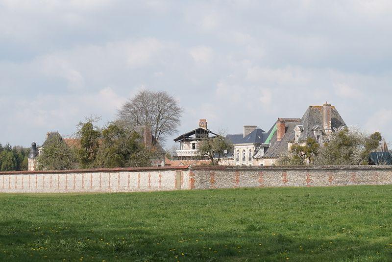 Photo du Monument Historique Château situé à Fumichon