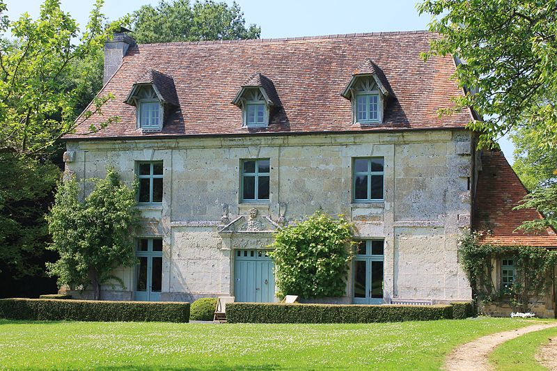 Photo du Monument Historique Manoir d'Angerville situé à Gonneville-sur-Mer
