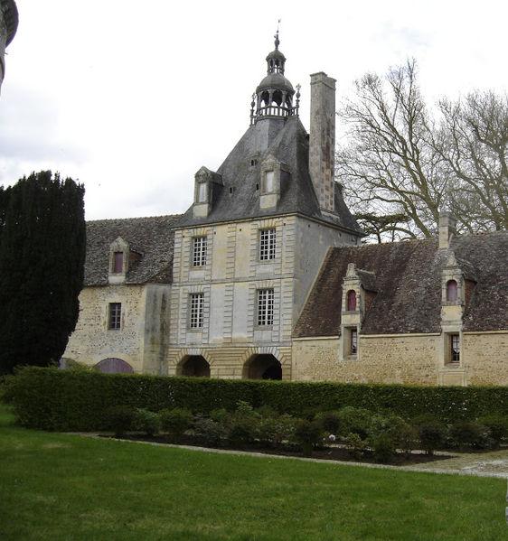 Photo du Monument Historique Domaine du château d'Outrelaize situé à Gouvix