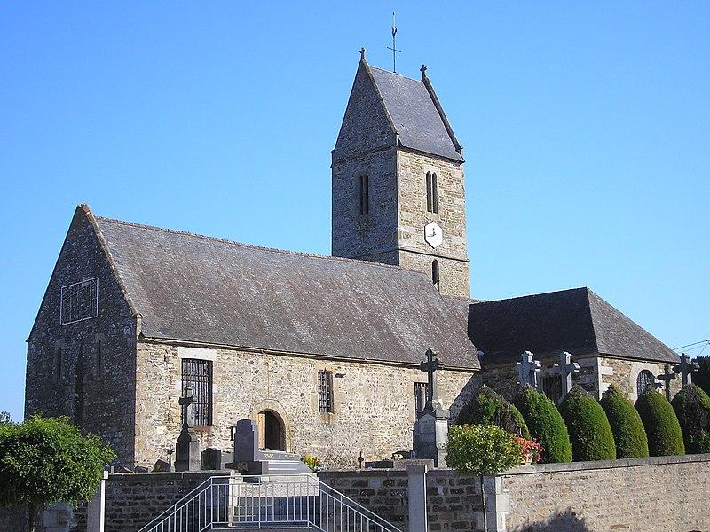 Photo du Monument Historique Eglise situé à Graverie (La)
