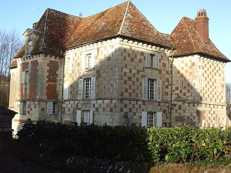 Photo du Monument Historique Château situé à Hermival-les-Vaux
