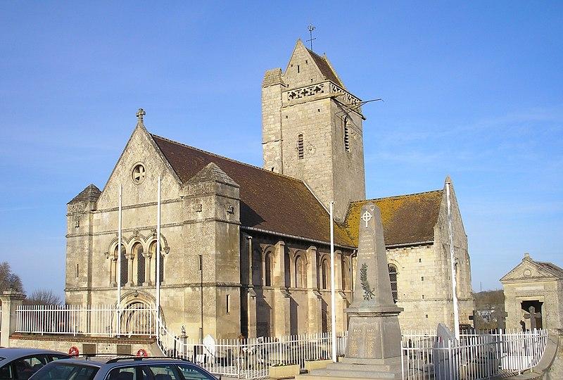 Photo du Monument Historique Eglise Saint-Clair situé à Hérouville-Saint-Clair