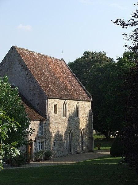 Photo du Monument Historique Abbaye de Saint-André-de-Gouffern situé à La Hoguette