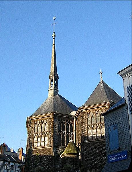 Photo du Monument Historique Eglise Sainte-Catherine situé à Honfleur