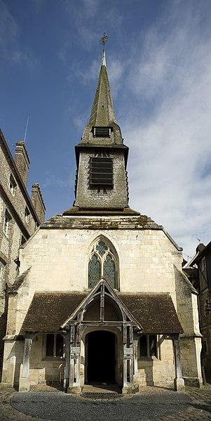 Photo du Monument Historique Ancienne église Saint-Etienne, actuellement musée situé à Honfleur