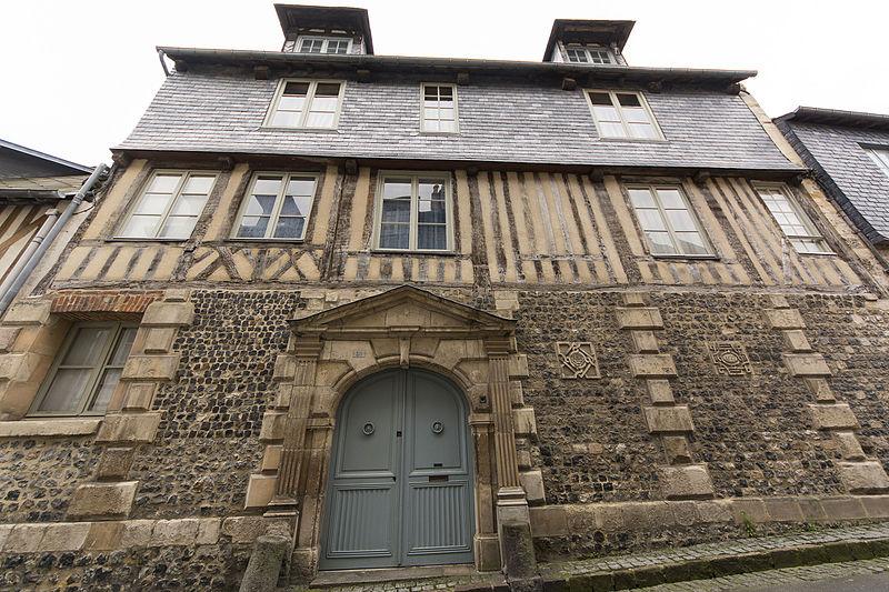 Photo du Monument Historique Maison du corsaire Jean-François Doublet situé à Honfleur