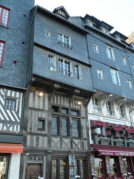Photo du Monument Historique Maison situé à Honfleur